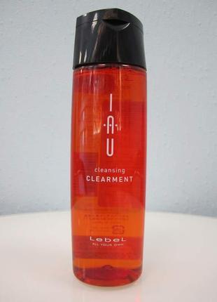 Шампунь для ежедневного ухода lebel iau cleansing clearment. япония. от 50 мл