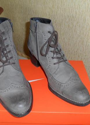 Ботинки paul green натуральная кожа 41-42 размера, стелька 27 см