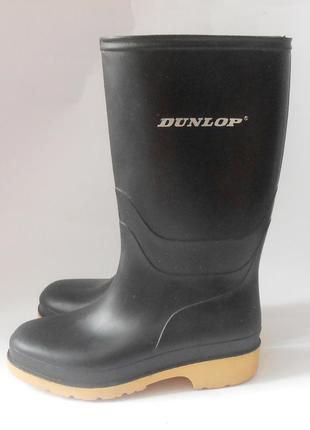 Детские резиновые сапоги для мальчика от бренда dunlop, р.33 код r3313