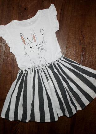 Платье next 2017 на 4-5 лет