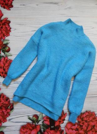 Невероятно шикарный женский теплый свитер от f&f. размер 2xl