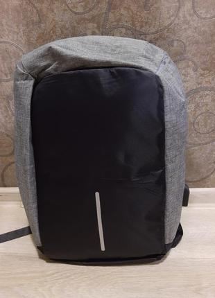 Рюкзак антивор с usb зарядкой, рюкзак для ноутбука, планшета (мужской, женский)