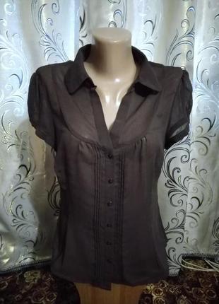 Классическая шифоновая блуза george
