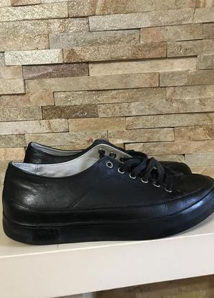 Суперские кожаные кеды туфли fitflop оригинал