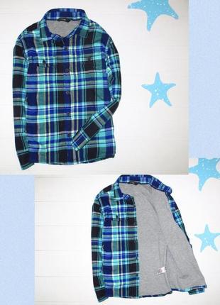Утеплённая рубашка george на 5-6л