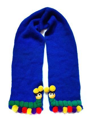 Веселый детский шарфик