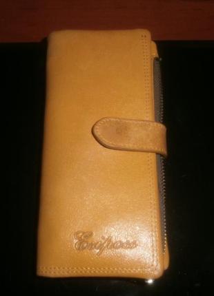 Кожаный кошелёк esiposs