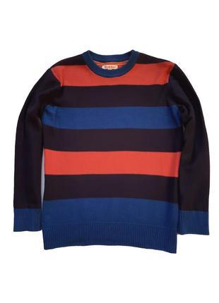Полосатый свитер bluezoo debenhams на мальчика 7-8 лет