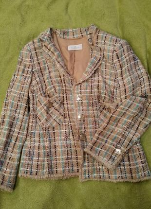 Клетчатый пиджак, жакет, блейзер, жекет в клітинку, піджак