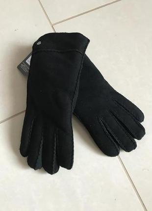 Перчатки женские кожаные цигейка дорогой бренд  германии roeckl размер 7,5