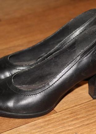 Туфли tamaris натуральная кожа