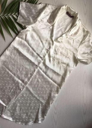 Новый фирменный атласный халат the collection