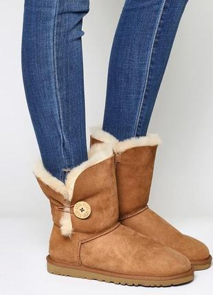 Замшевые сапоги ботинки ugg australia