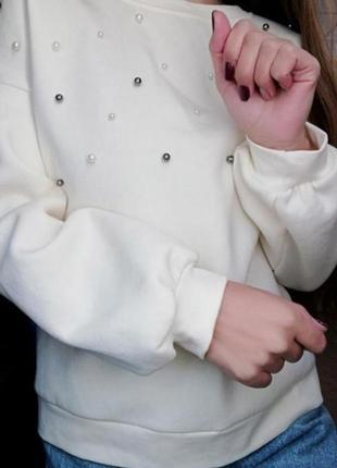 Свитшот на флисе кофта худи реглан stimma
