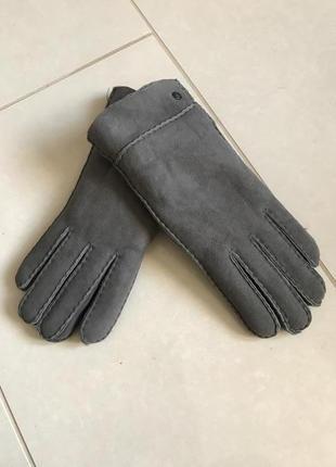 Перчатки кожаные цигейка натуральная дорогой бренд германии roeckl размер 8