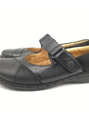 Кожаные туфли мокасины clarks artisan р 39,5-40