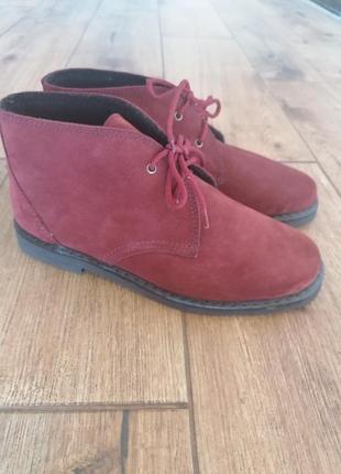 Крутые ботинки дезерты inblu