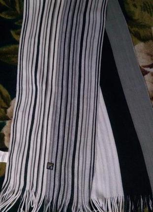 Полосатый шарф terranova