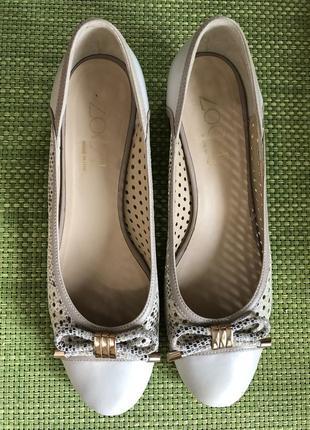 Удобные женственные туфли