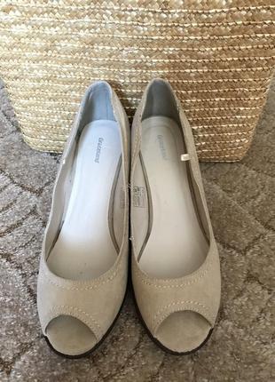Туфли с открытым носком graceland