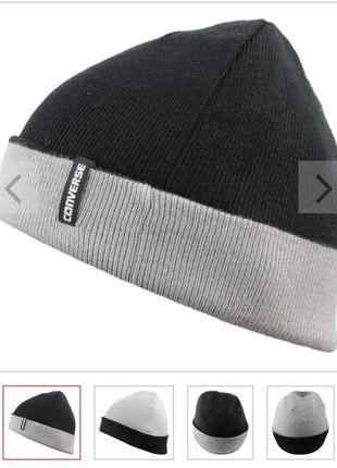 Шапка converse 4-way reversable knit beanie