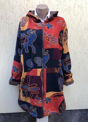 Куртка на меху,кофта с капюшоном,куртка,большой размер,хлопок