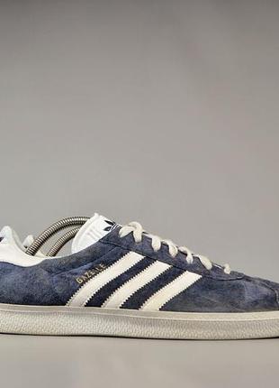 Мужские кеды кроссовки adidas gazelle, р 46