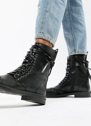 Ботинки на шнуровке raid, размер 40