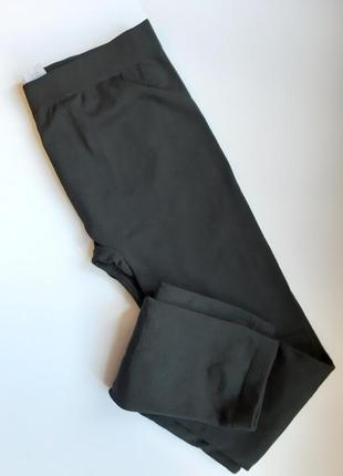 М. new look. лосины утеплённые. теплые. черные. харьков