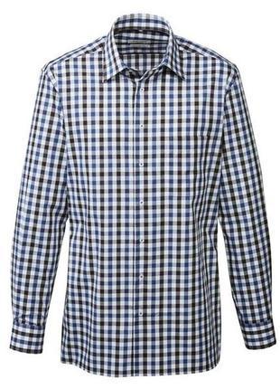 Рубашка прямого крою. європейський розмір 43/17