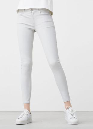Вощеные узкие джинсы belle mango