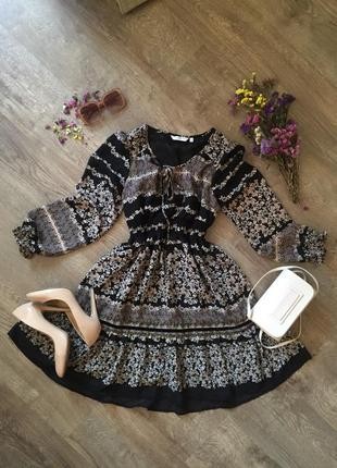 Шифоновое праздничное платье шифонова святкова сукня