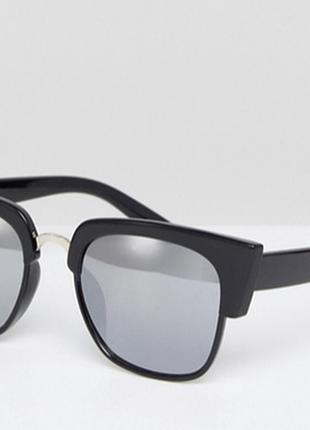 Гламурные черные большие квадратные солнцезащитные очки, fc3 - высокая защита
