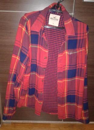 Тепленька рубашка унисекс,розмір l
