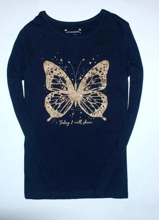 Реглан с золотой бабочкой