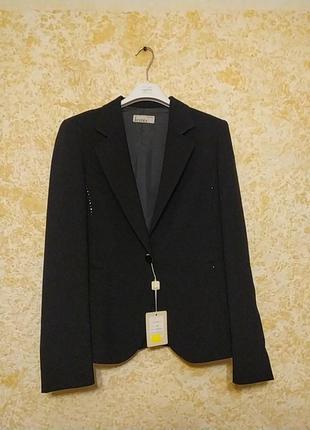 Шикарный классический черный пиджак