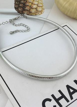 Колье пектораль цепочка жгут на шею ожерелье