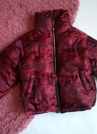 Стильный дутик, куртка зефирка
