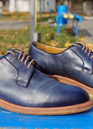 Шикарні чоловічі туфлі paul rosen