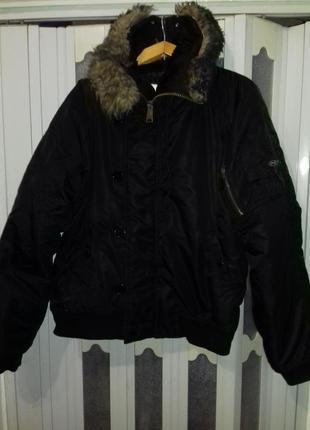 """Куртка аляска type n2b от """"mfh"""" (германия) , короткая."""