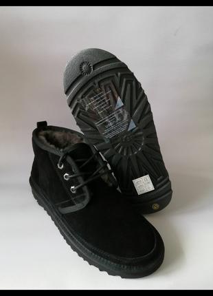 Угги мужские ботинки зимние ugg men's neumel black