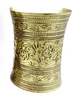 Широкий браслет богини этно