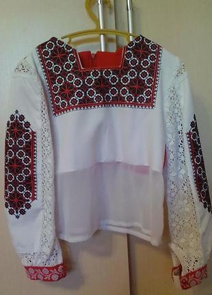 Ексклюзив блуза-рубашка, вишиванка