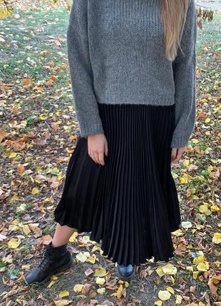 Актуальная юбка миди от pull&bear