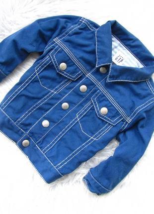 Стильная джинсовая  куртка gap
