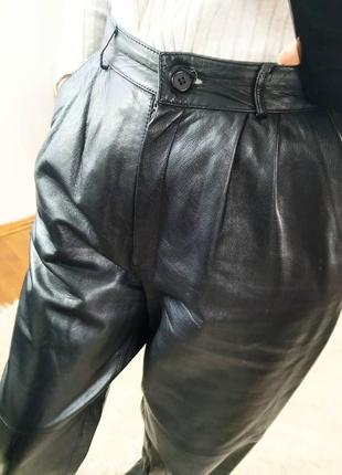 Шкіряні штани, кожаные штаны, брюки, мом