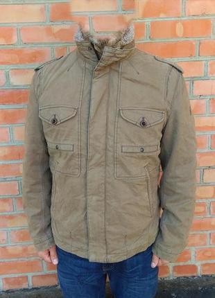 Hugo boss куртка утепленная оригинал (52 - l)