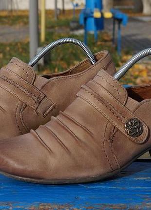Жіночі  шкіряні туфлі, ботінки medicus