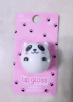 Бальзам для губ панда, блеск для губ