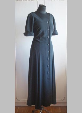 Невероятное дизайнерское платье - халат, сарафан в стиле ретро, винтаж, на пуговицах